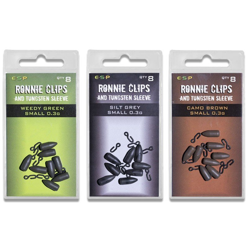 Ronnie Clips & Tungsten Sleeves