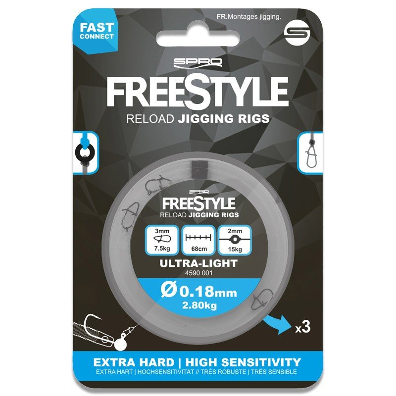 Freestyle Reload Jig Rigs