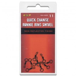 Quick Change Ronnie Ring Swivels