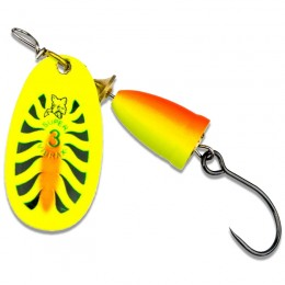 Vibrax Fluorescent Barbless Spinner