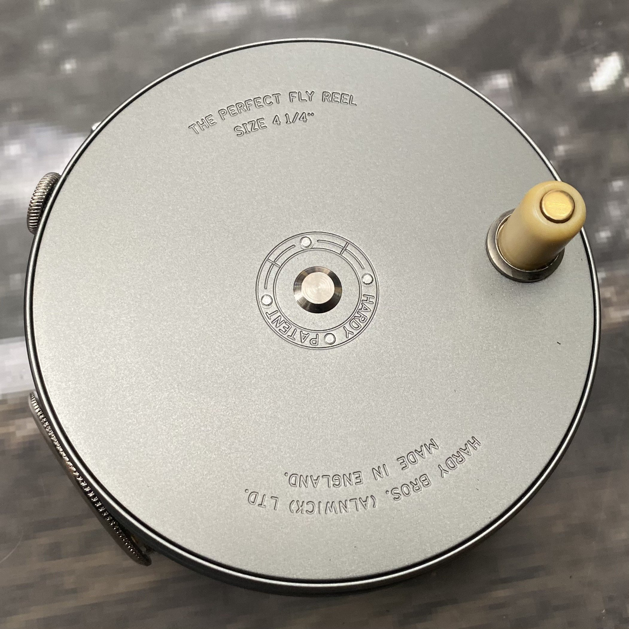2008 Perfect Salmon Fly Reel with Rotating Agate Line Guard MADE IN ENGLAND image 1