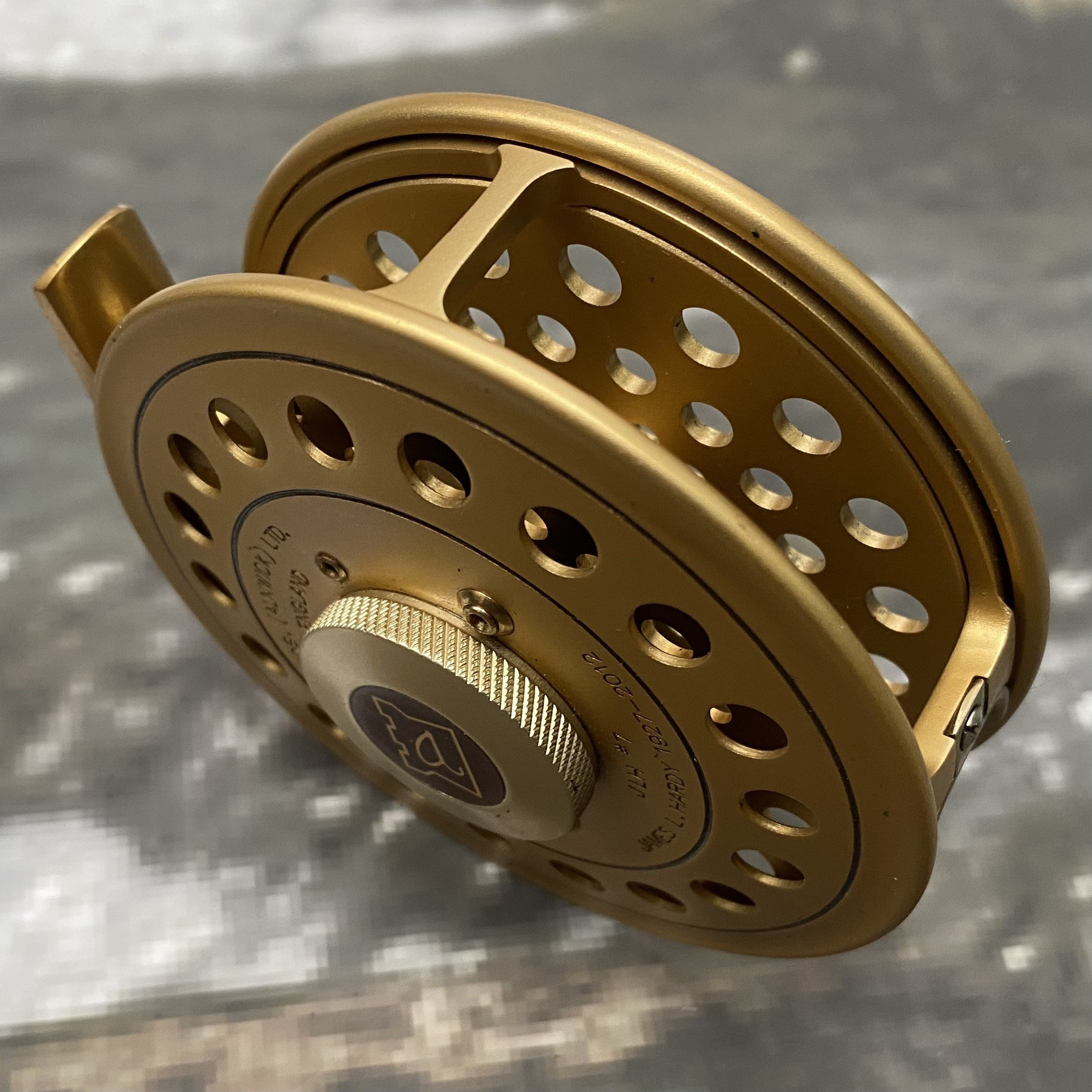 The JLH #7 Commemorative Fly Reel MADE IN ENGLAND - LIMITED EDITION image 3