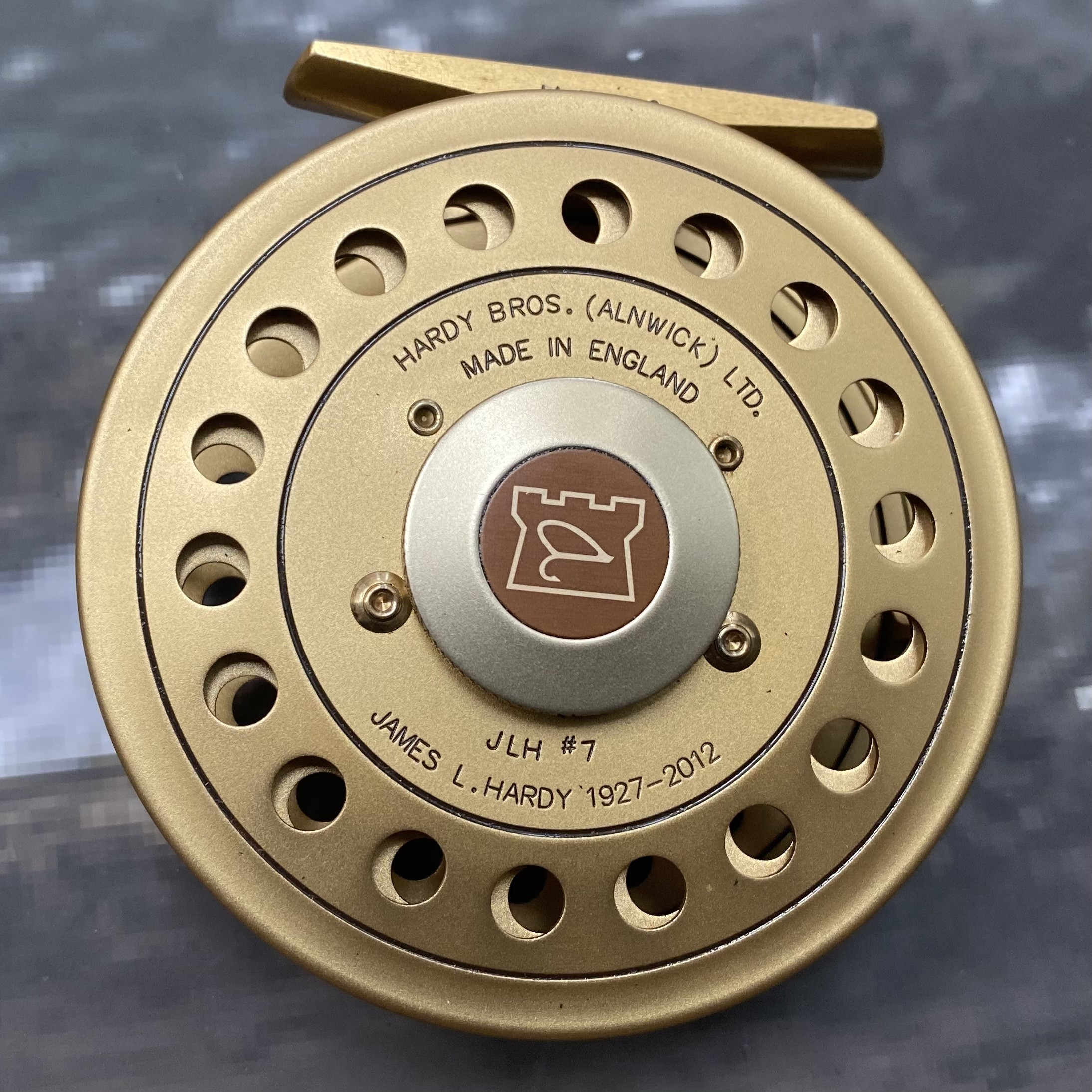 The JLH #7 Commemorative Fly Reel MADE IN ENGLAND - LIMITED EDITION