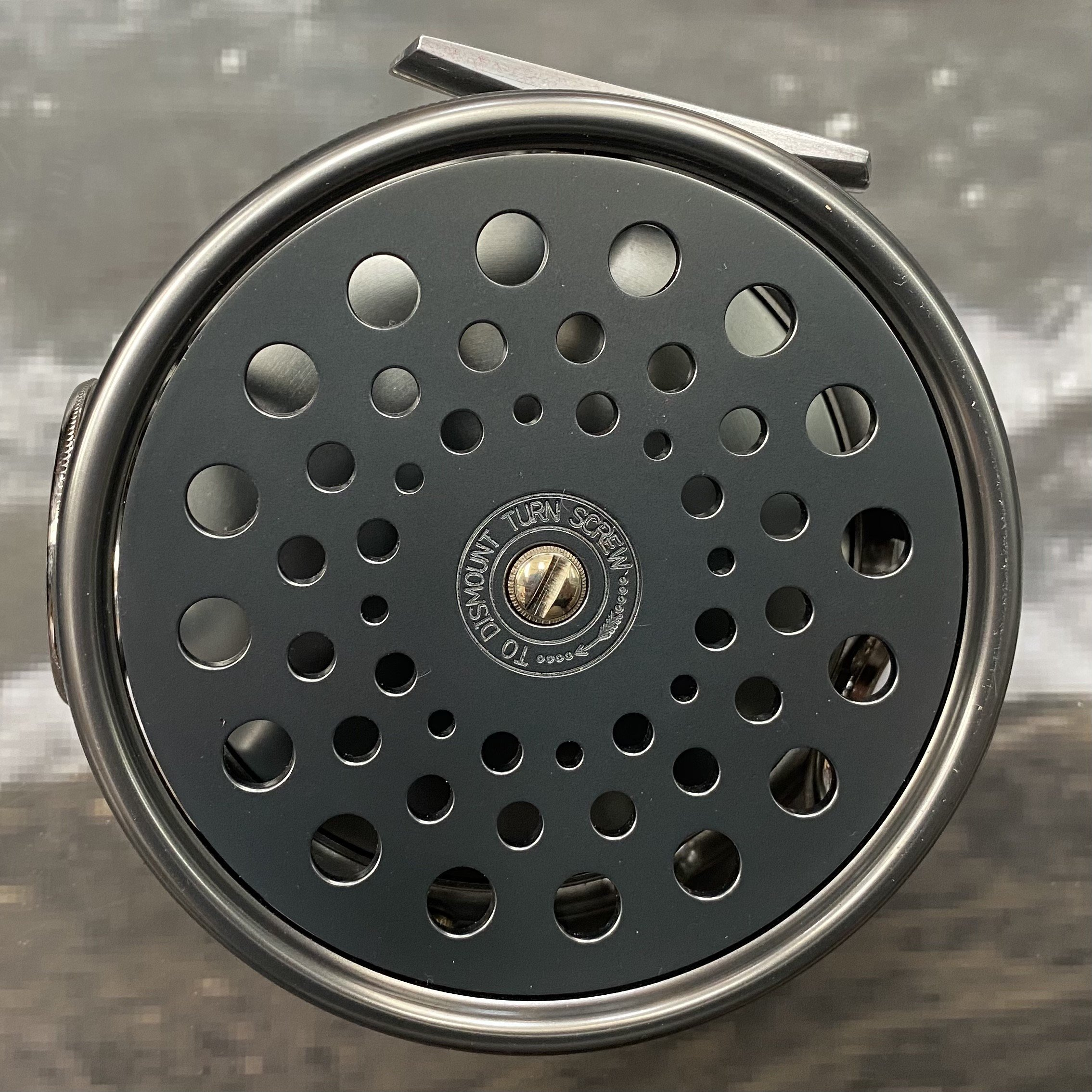 Salmon Rivers Perfect Fly Reel The Dee 4½ inch MADE IN ENGLAND - LIMITED EDITION image 1
