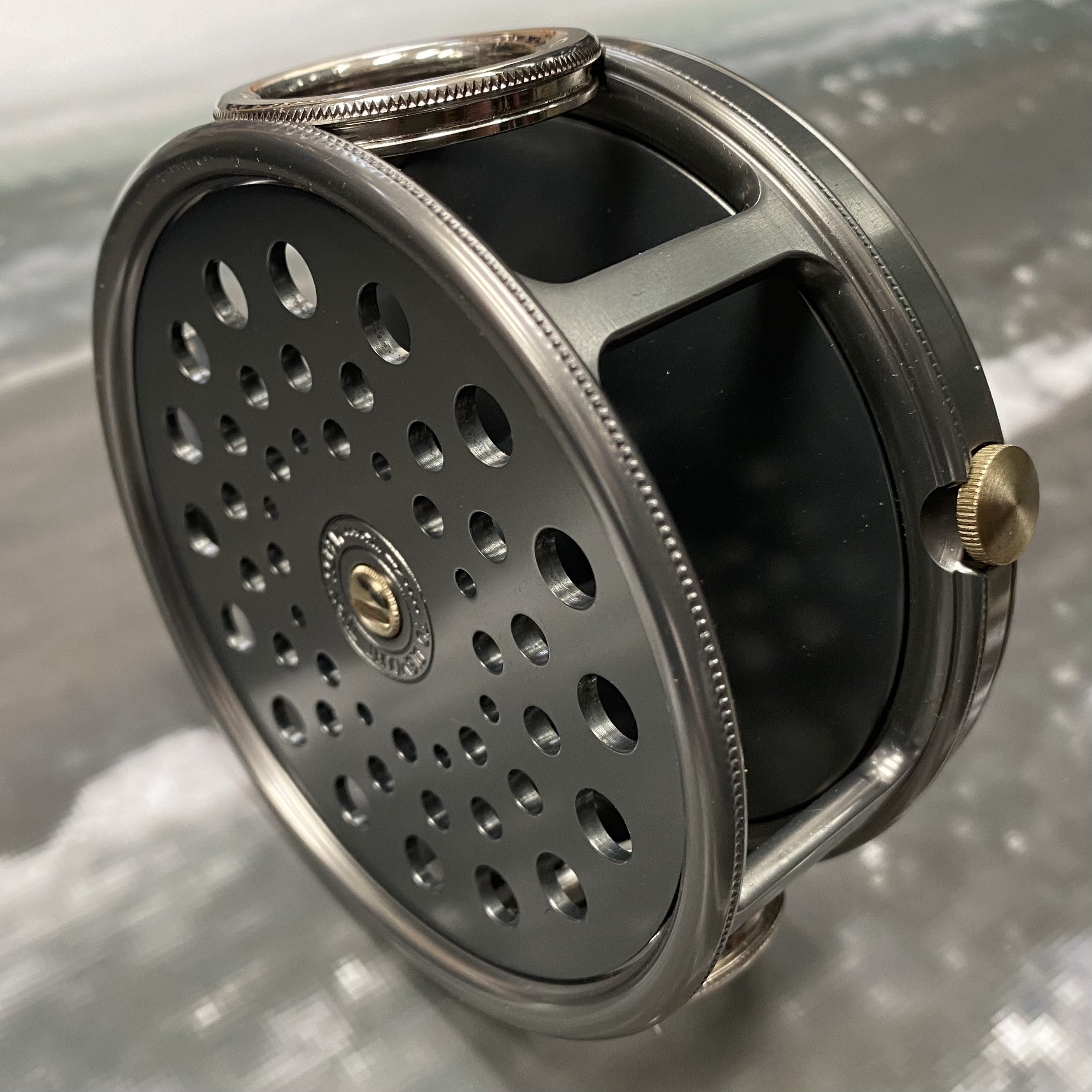 Salmon Rivers Perfect Fly Reel The Dee 4½ inch MADE IN ENGLAND - LIMITED EDITION image 2