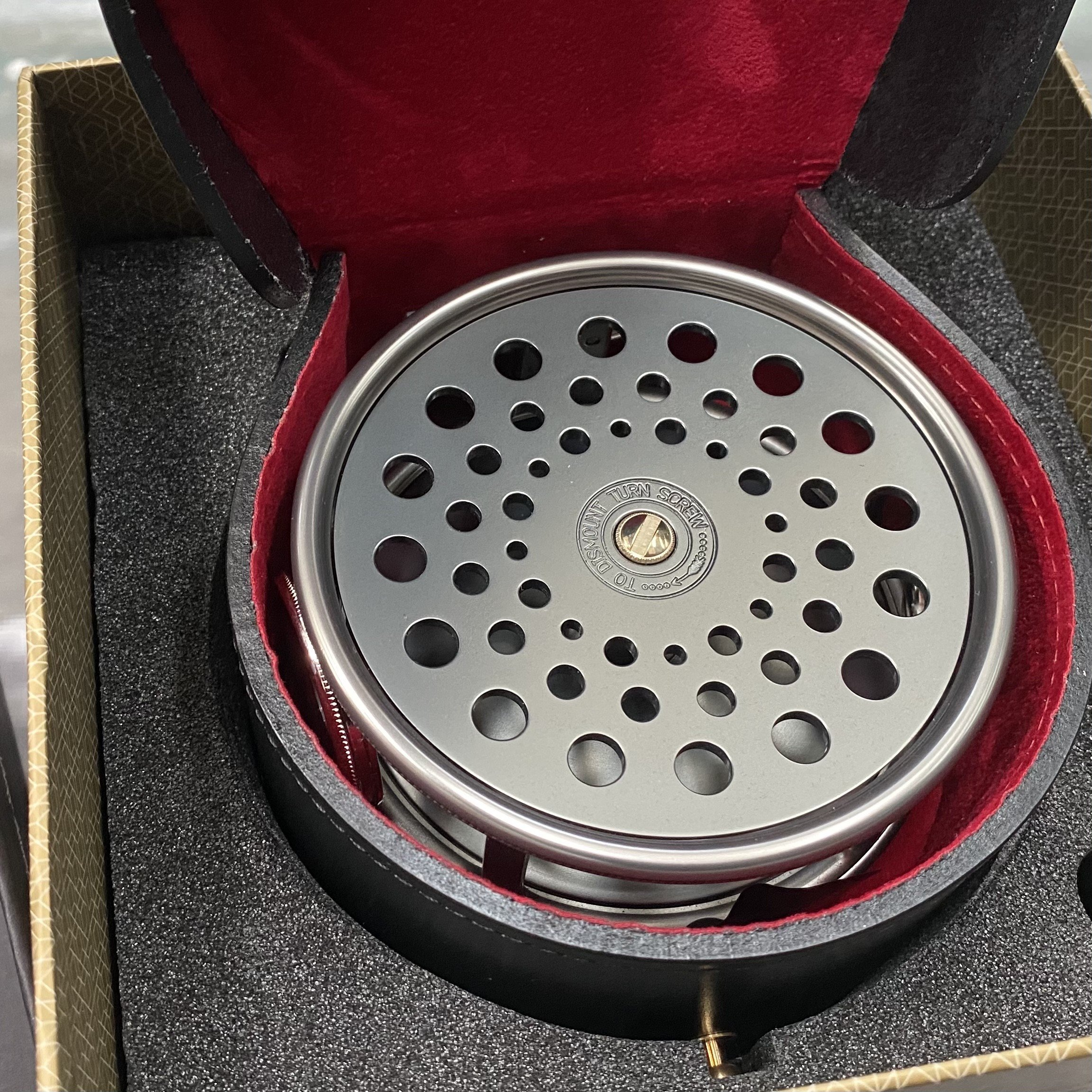Salmon Rivers Perfect Fly Reel The Dee 4½ inch MADE IN ENGLAND - LIMITED EDITION image 5