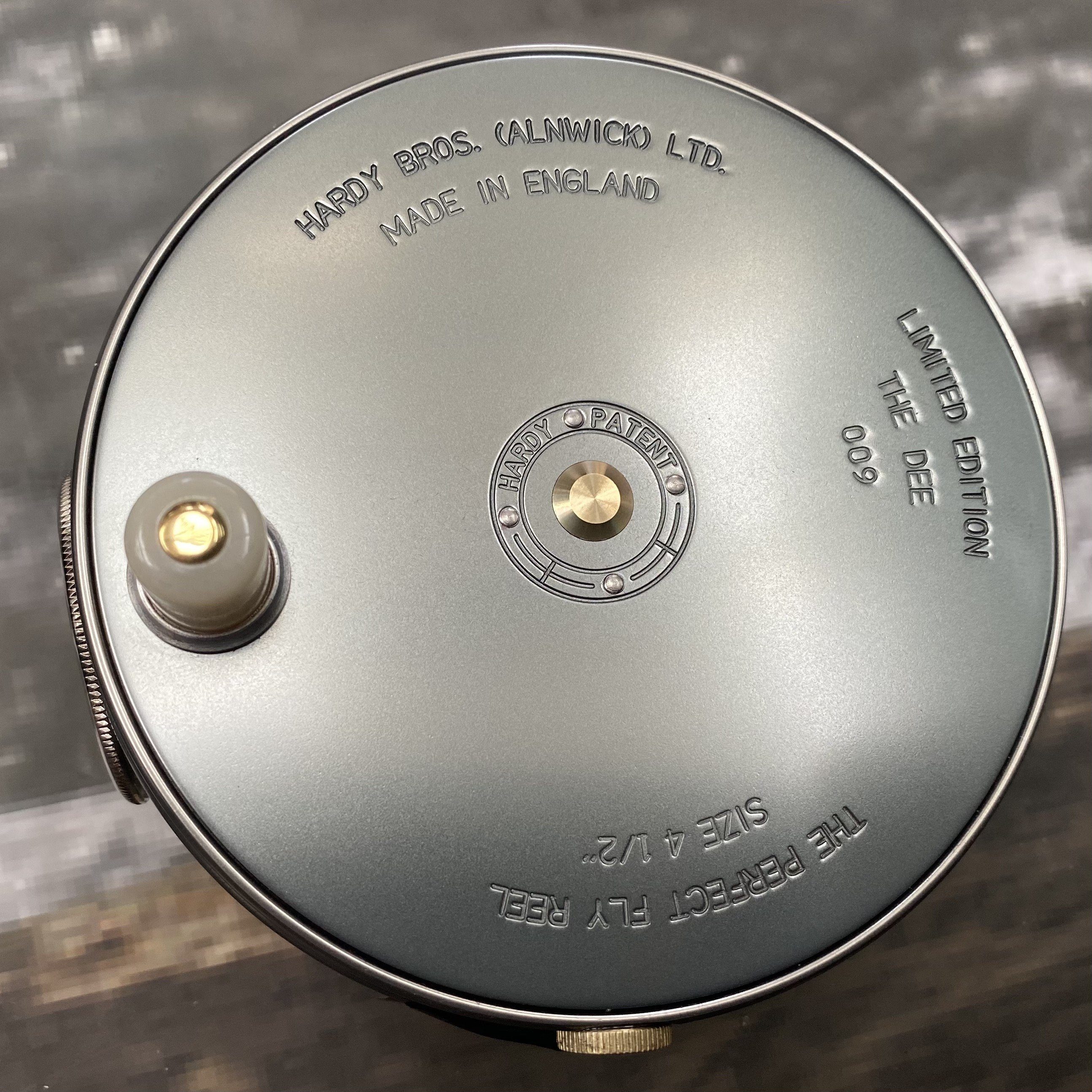 Salmon Rivers Perfect Fly Reel The Dee 4½ inch MADE IN ENGLAND - LIMITED EDITION image 3
