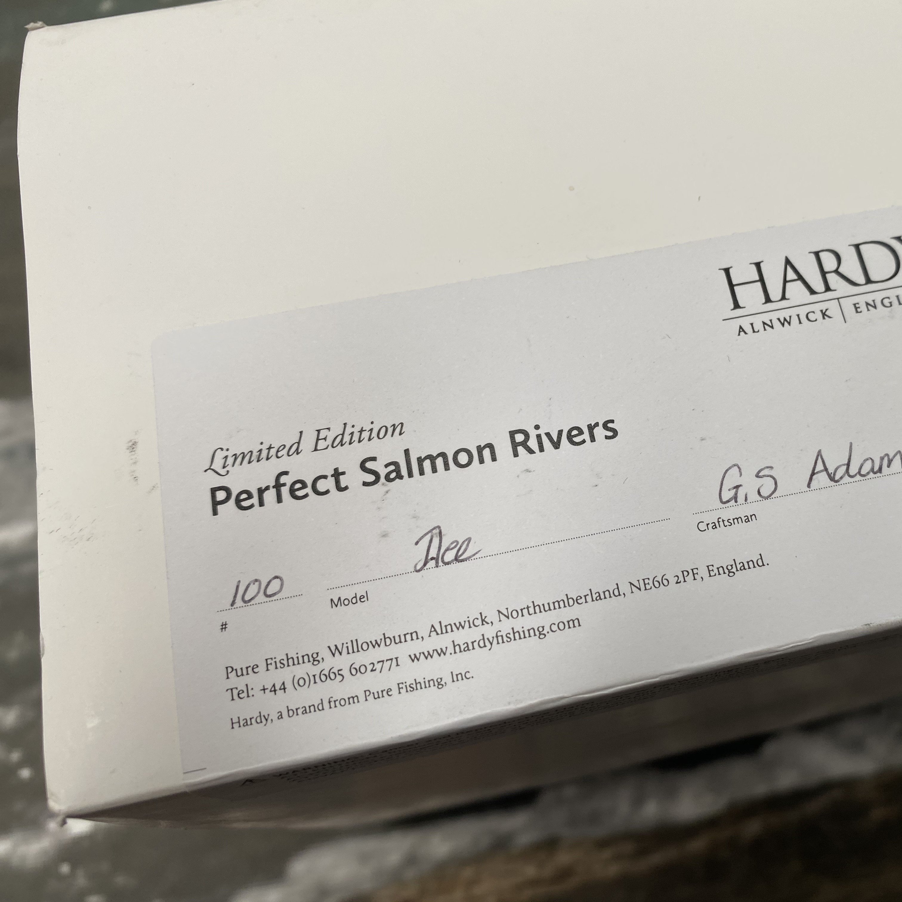 Salmon Rivers Perfect Fly Reel The Dee 4½ inch MADE IN ENGLAND - LIMITED EDITION image 13
