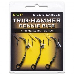Trig Hammer Ronnie Rigs Pack of 3