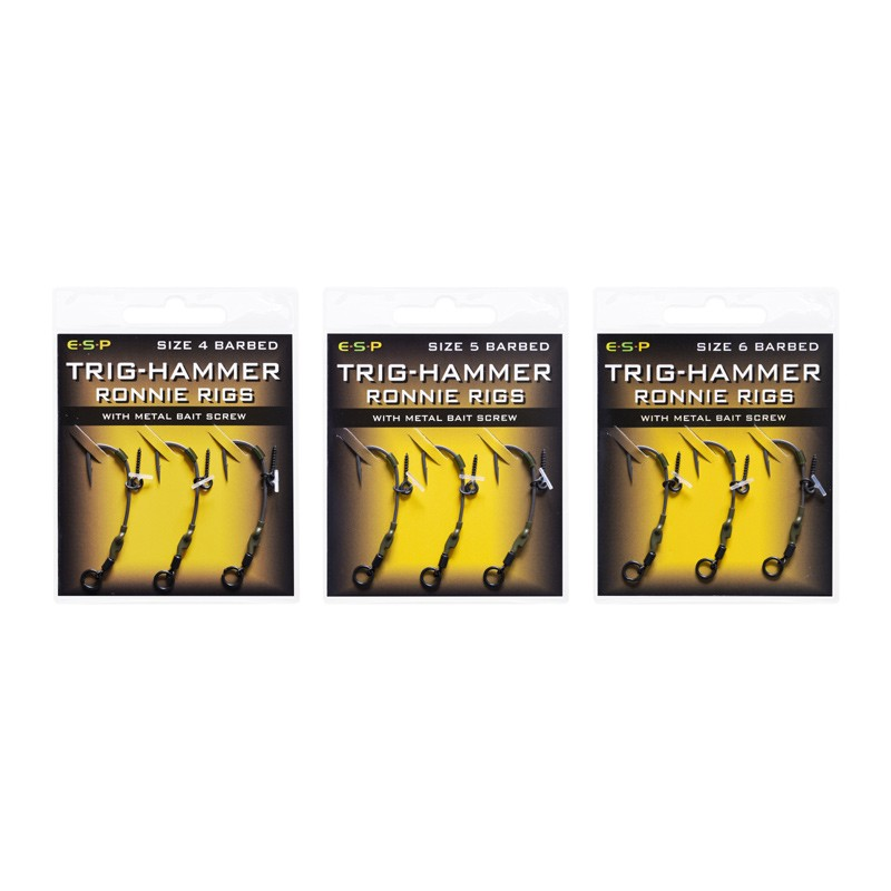 Trig Hammer Ronnie Rigs Pack of 3 image 2