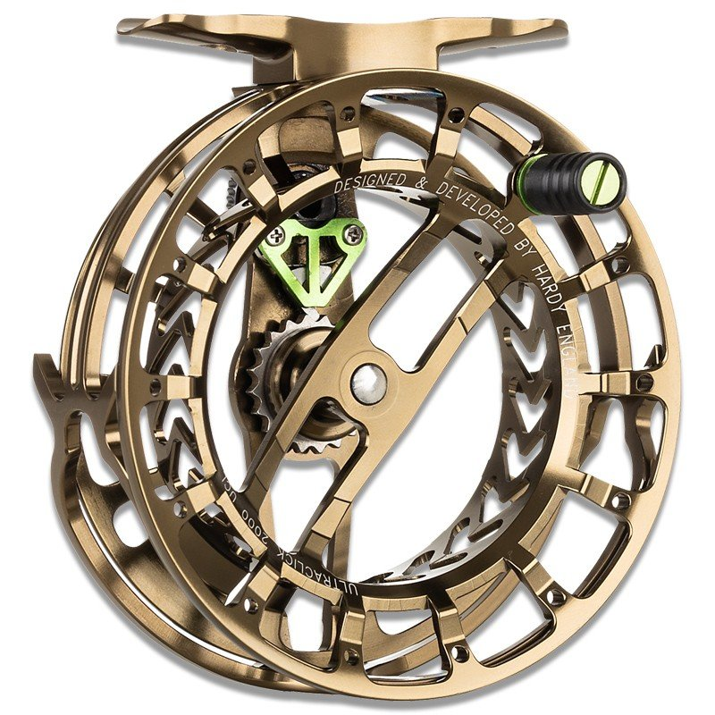 Ultraclick UCL Fly Reel Olive Bronze