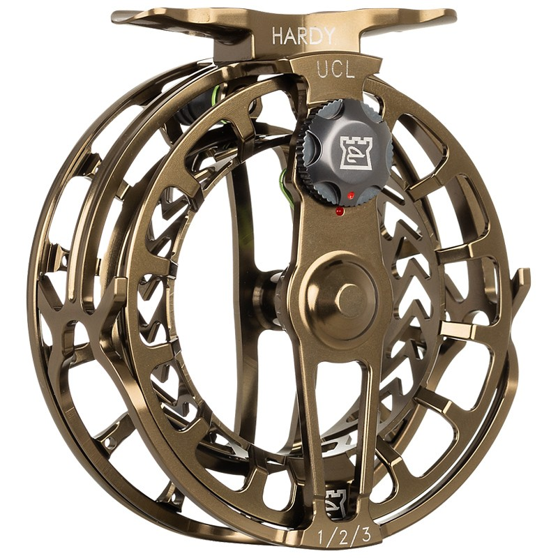 Ultraclick UCL Fly Reel Olive Bronze image 2