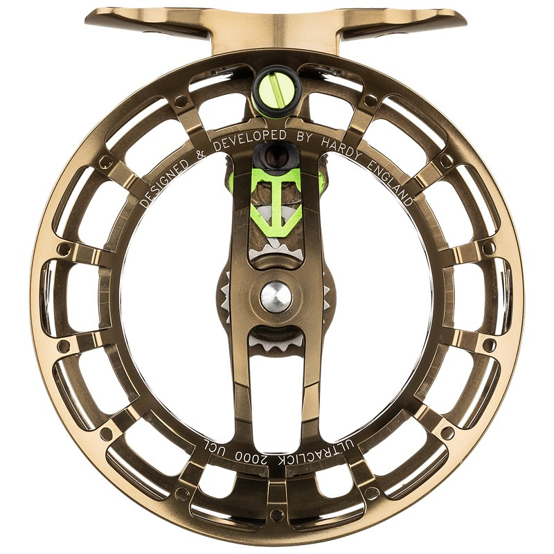 Ultraclick UCL Fly Reel Olive Bronze image 3