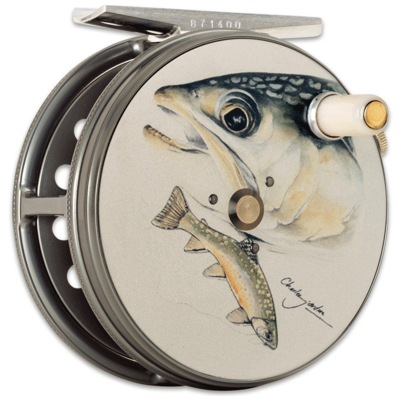 Charles Jardine Artwork Perfect Fly Reel Brook Trout MADE IN ENGLAND - LIMITED EDITION image 1