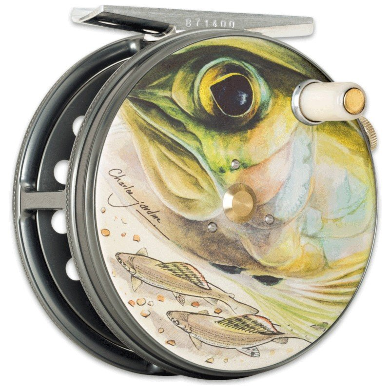 Charles Jardine Artwork Perfect Fly Reel Grayling MADE IN ENGLAND - LIMITED EDITION image 1