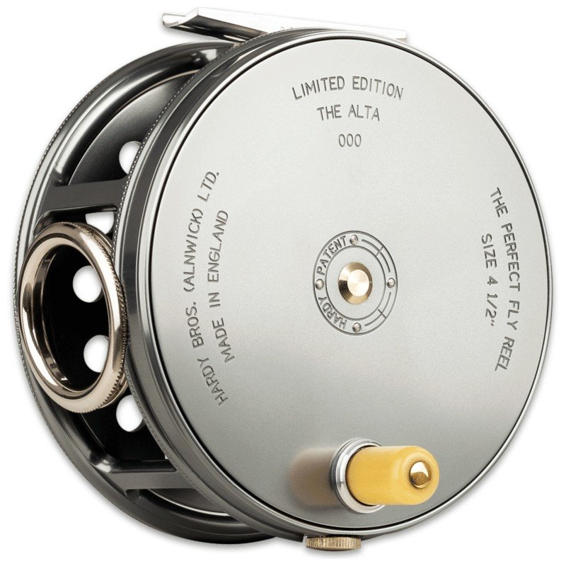 Salmon Rivers Perfect Fly Reel 4½ inch MADE IN ENGLAND - LIMITED EDITION image 1