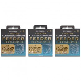 Micro Barbed Carbon Feeder Fluorocarbon Feeder Rigs