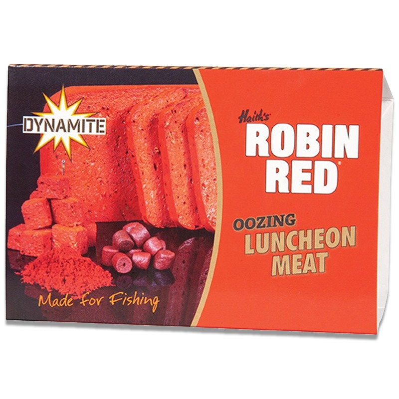Robin Red Oozing Luncheon Meat