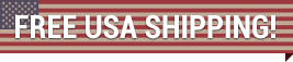 Free USA shipping ribbon