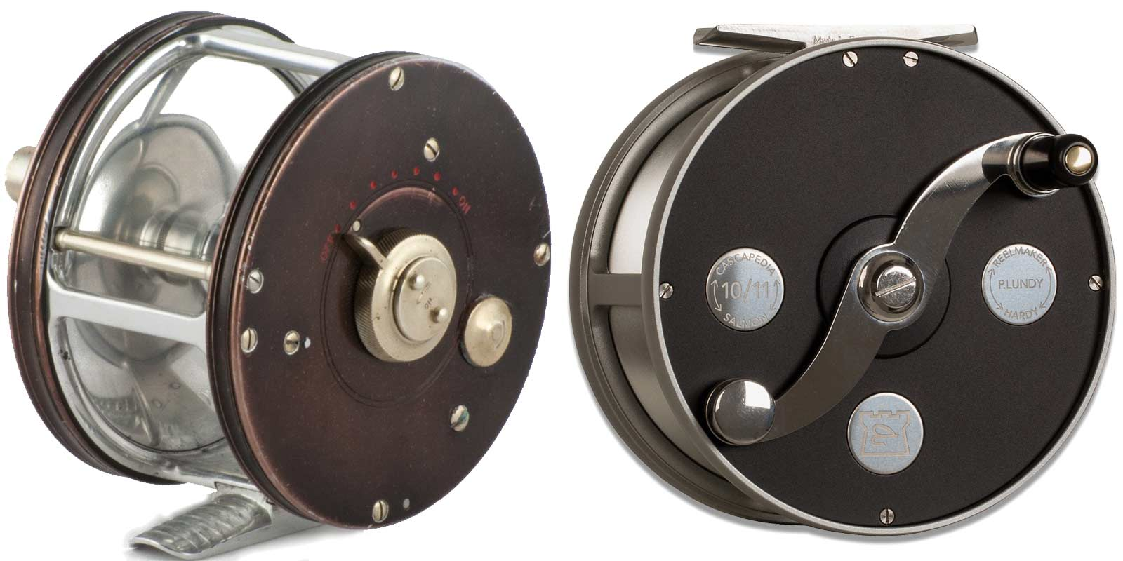 1930s and 2018 Cascapedia reels