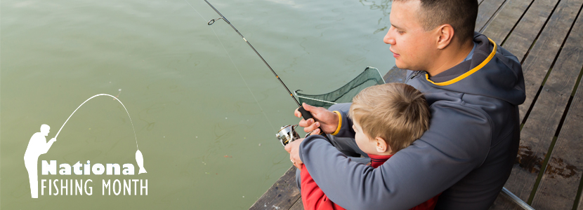 National Fishing Month 2018