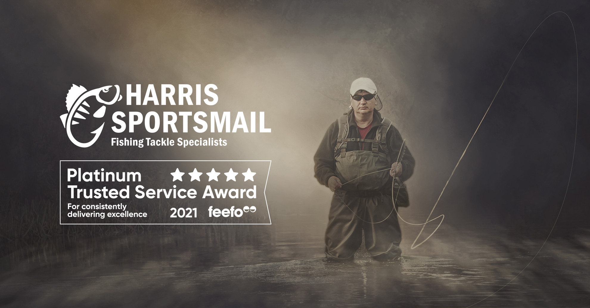 Harris Sportsmail receives Feefo Platinum Trusted Service Award 2021